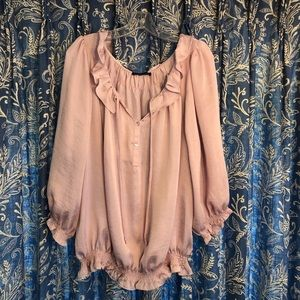 Violet and Claire Silky Blouse